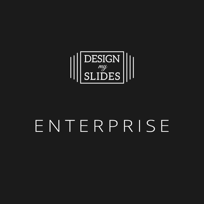 Design My Slides - Presentation Services Package - Enterprise