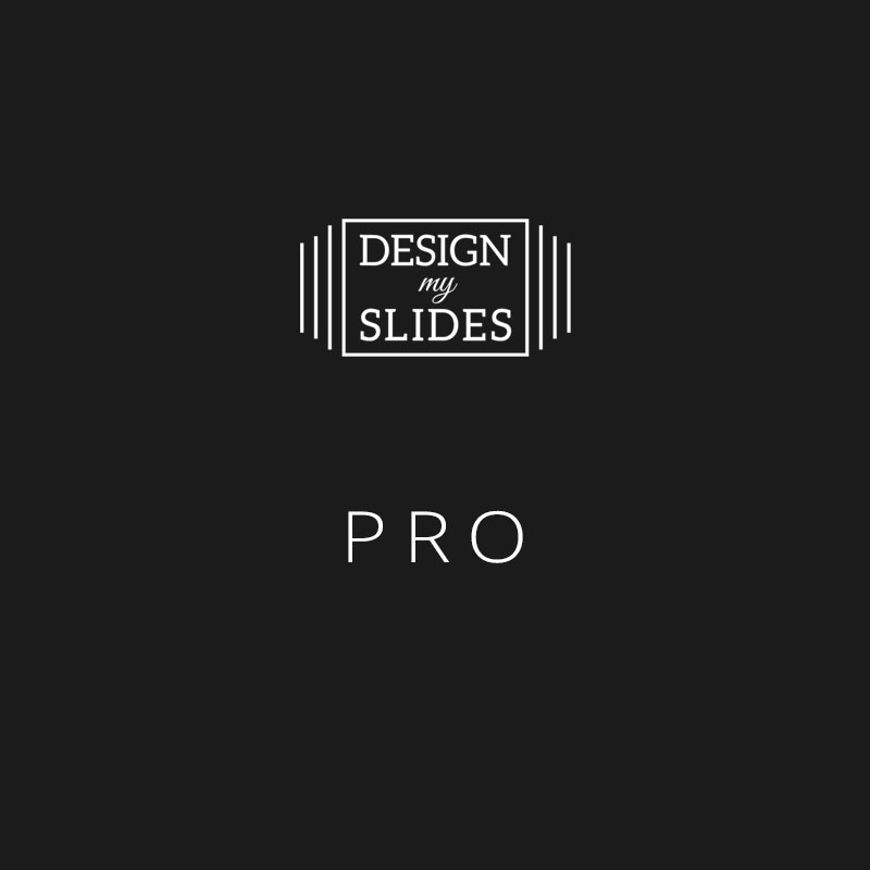 Design My Slides - Presentation Services Package - Pro